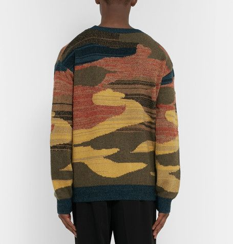This multicoloured sweater from <a href='http://www.mrporter.com/mens/Designers/Dries_Van_Noten'>Dries Van Noten</a> seamlessly fuses the brand's trademark avant-garde aesthetic with a laid-back appeal. It's been knitted in Belgium and is blended with touches of cashmere, alpaca, linen and silk for a sumptuous yet tactile handle. <br><br><i>Please note: this item is only available for delivery within North America, Australia and the EU</i>