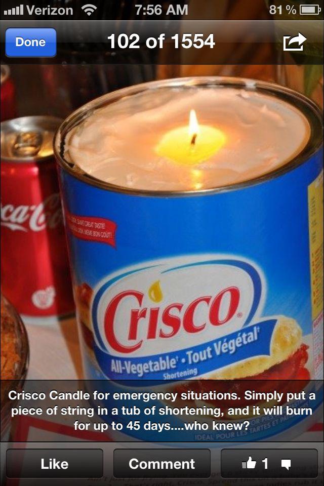 Interesting !!!! | Survival | Emergency candles, Emergency