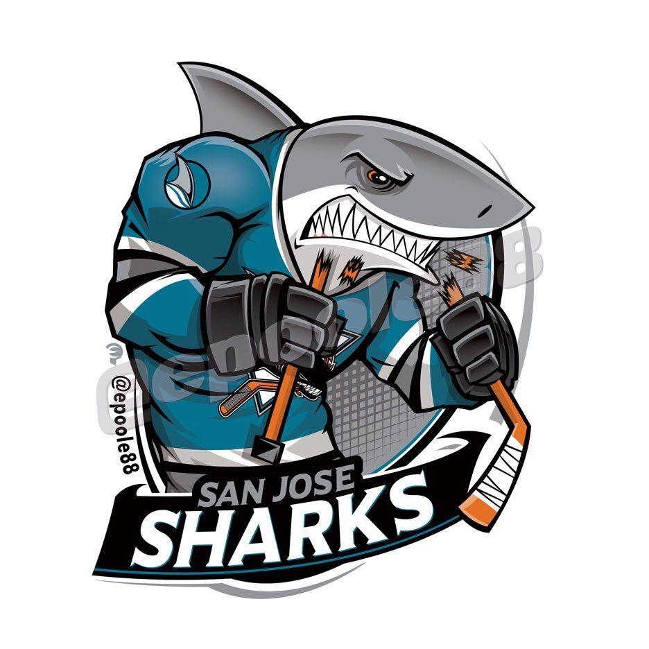 San Jose Sharks Hockey Logos Nhl Logos Sports Team Logos