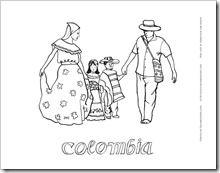 Colorear Dibujos De Colombia Dibujos Para Colorear Independencia De Colombia Mezcla De Colores De Pintura