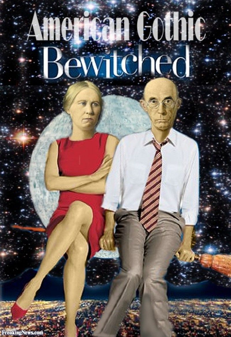 parody of bewitched