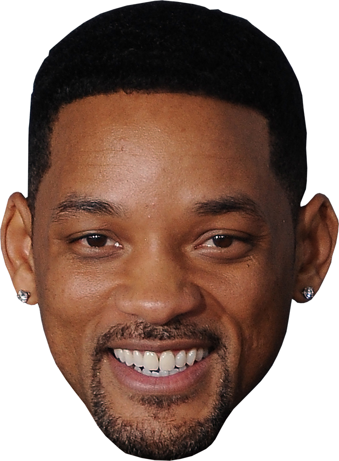 Man Face Will Smith Png Image Male Face Will Smith People Cutout
