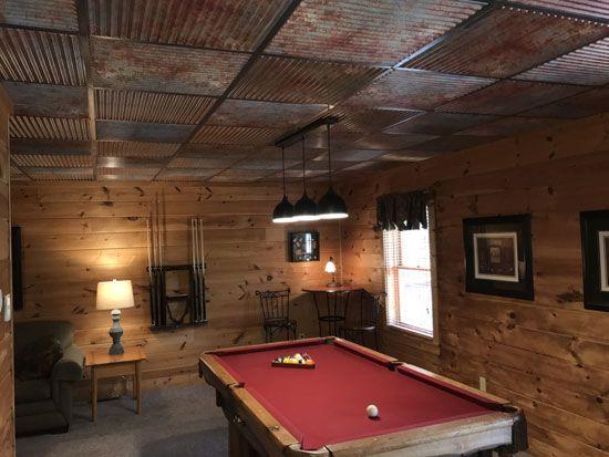 36 Man Caves Ideas In 2021 Decorative Ceiling Tile Ceiling Tiles Ceiling Tile