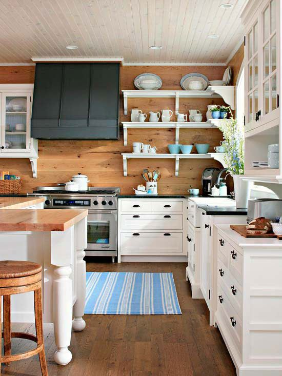 Best Cottage Style Decorating Ideas Cottage Kitchens 400 x 300