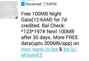 Wynk Music App Offering Free 300MB 4G/3G Data By Downloading