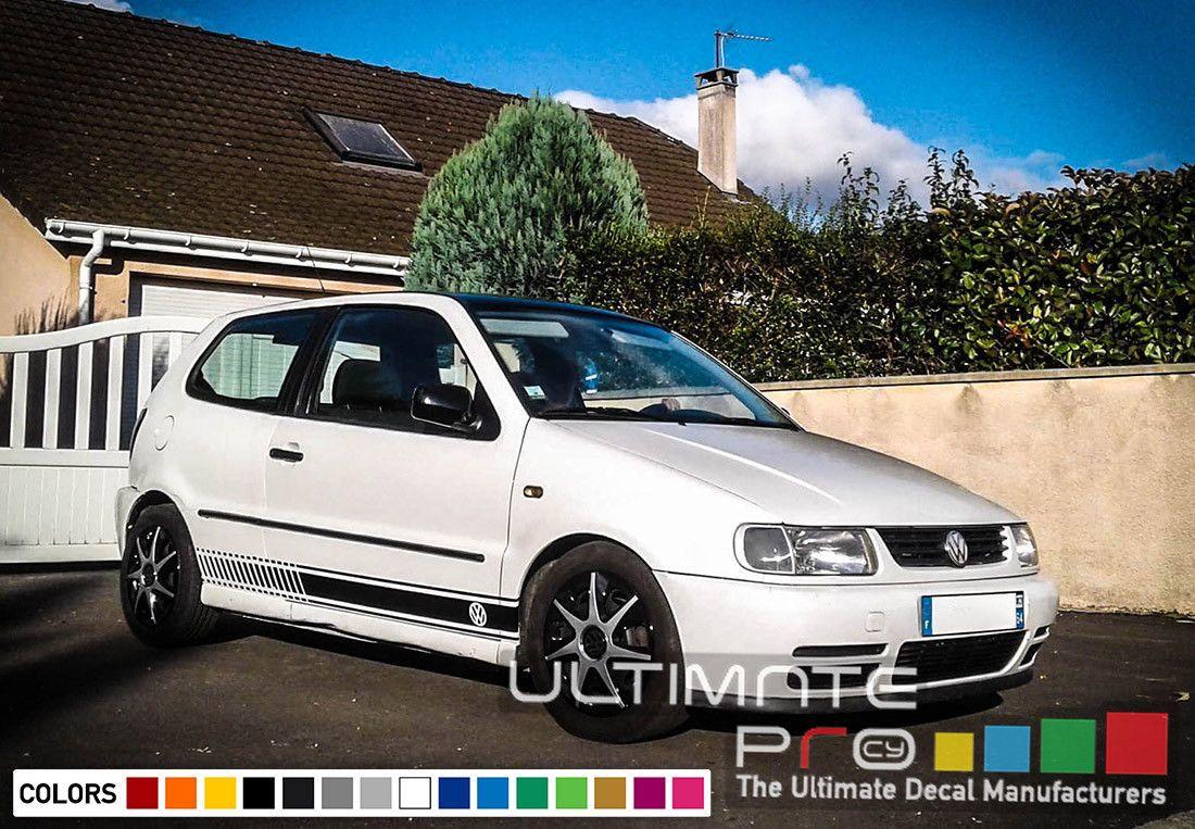 Sticker Graphic Decal Stripe Kit For Volkswagen Vw Polo 1992 1993 1994 1995 1996 Volkswagen Best Car Insurance Vw Polo [ 763 x 1100 Pixel ]