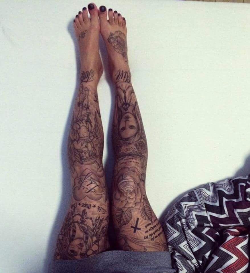 Pin by Jules on tats of all flavors Leg tattoos, Leg