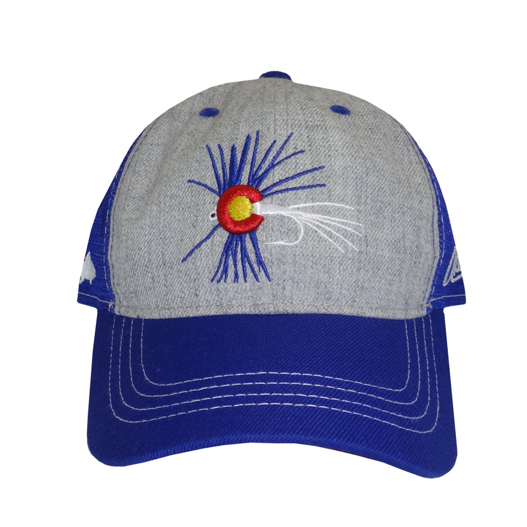Colorado Fly Fishing Curved Bill Hat - Grey  FlyFishing ... da25b2a306ce