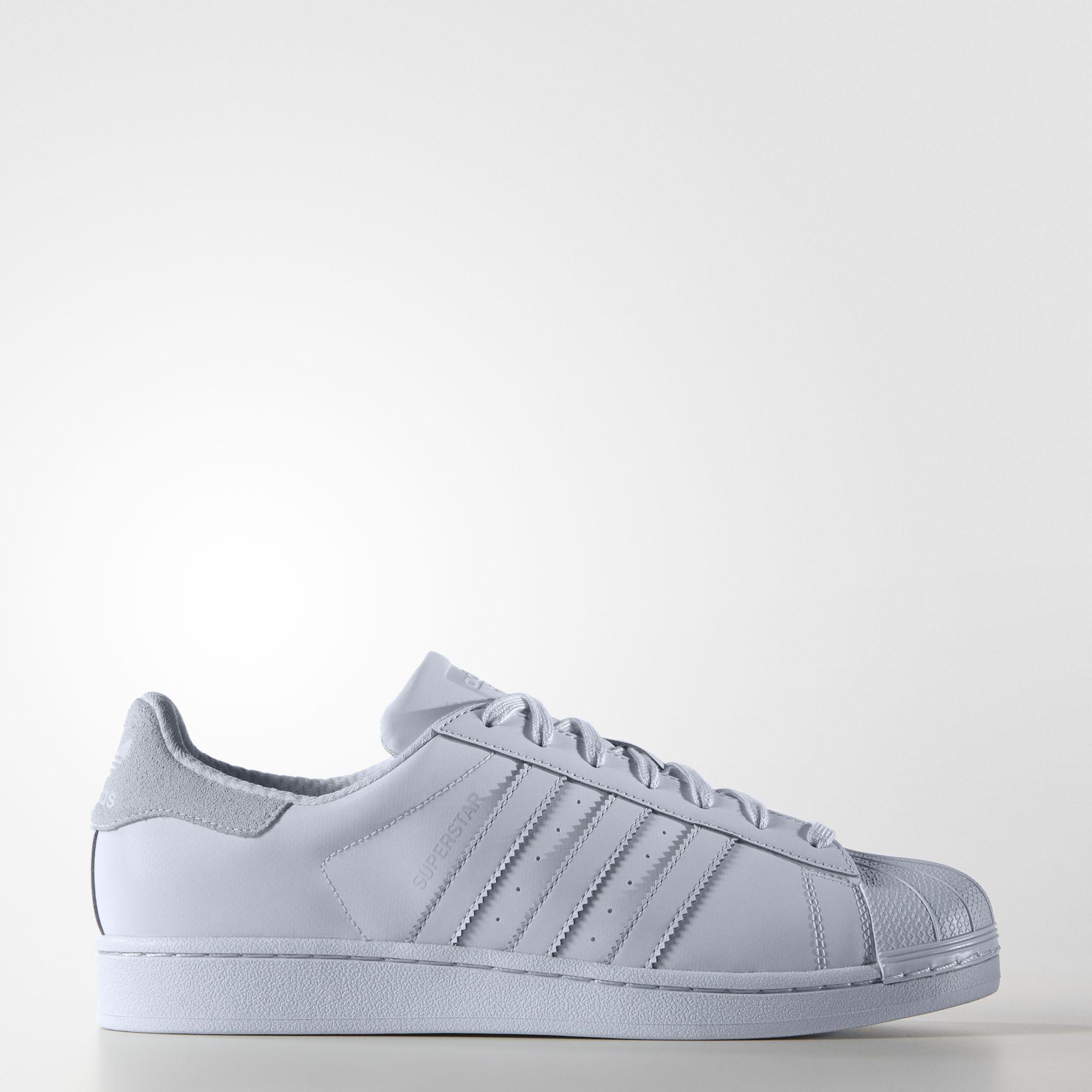adidas superstar fur grey