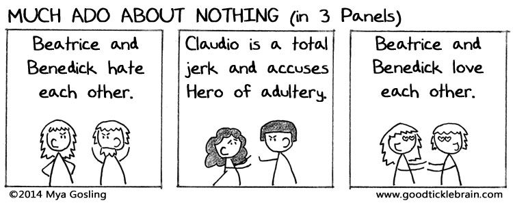 much ado about nothing characters