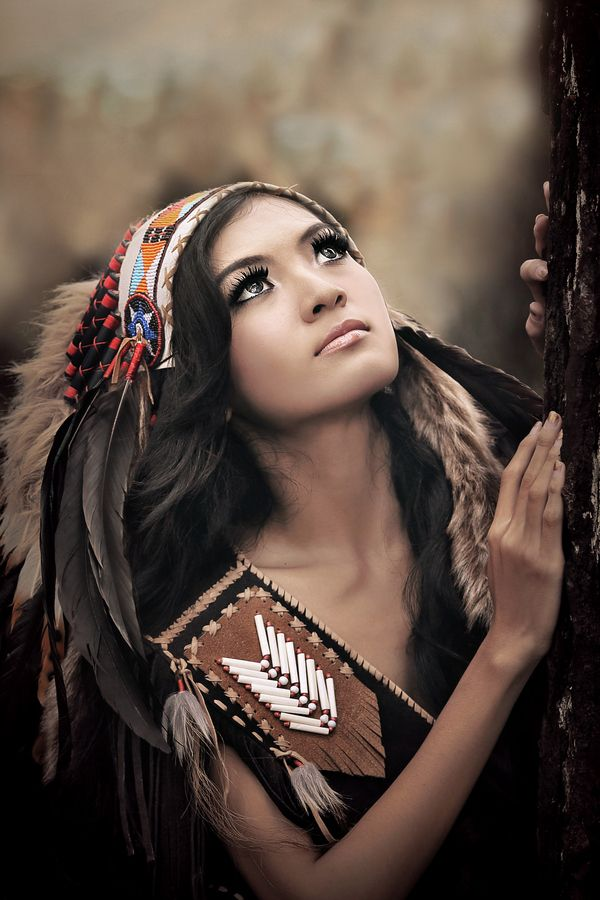 Beautiful teen native american indian women final