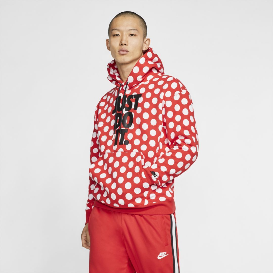 Nike Sportswear Jdi Printed Pullover Hoodie Nike Com Print Pullover Hoodies Clothes [ 1080 x 1080 Pixel ]