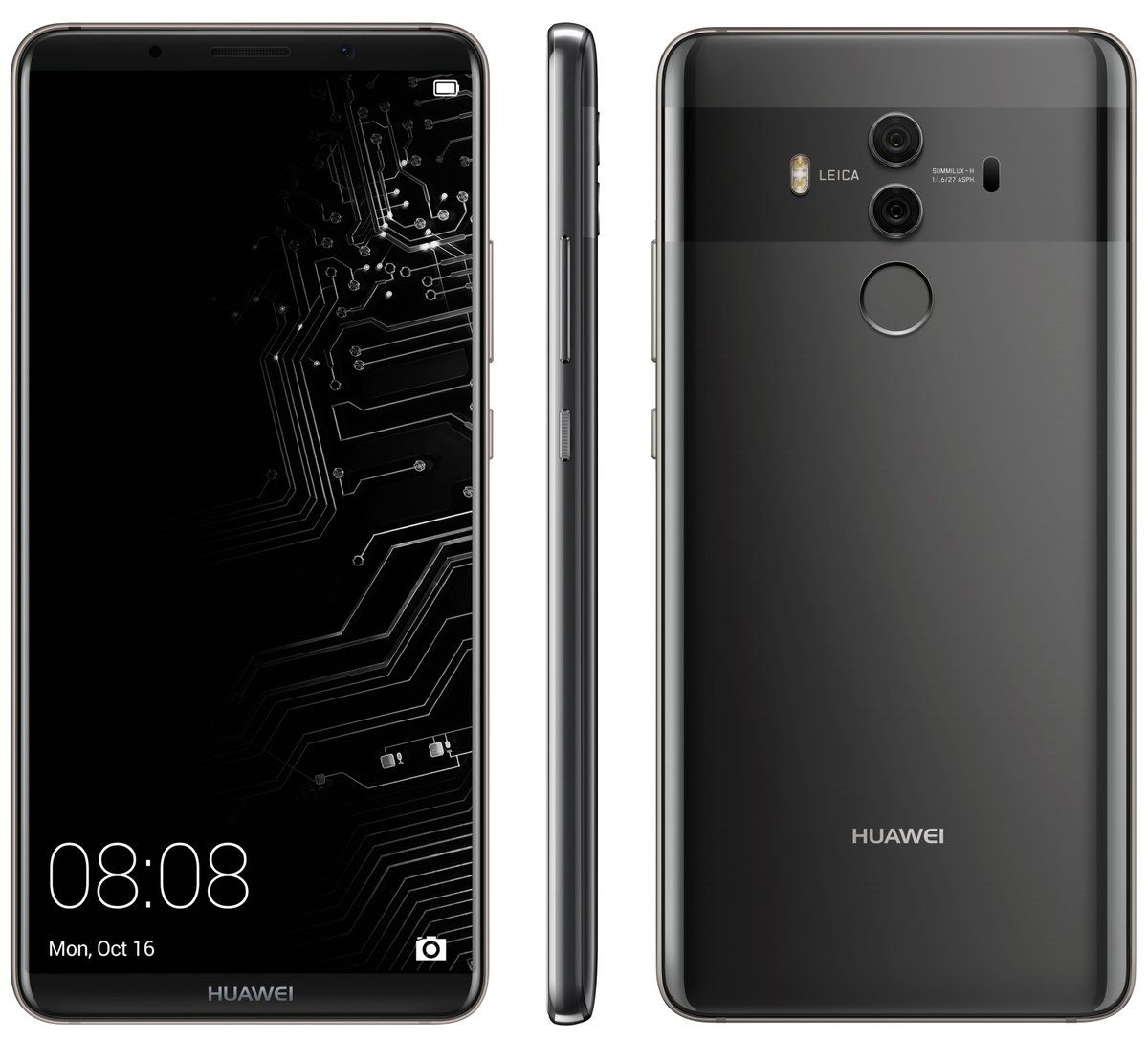 Huawei Mate 10 Pro Shows Its Body In Clear Leak With Images Huawei Phone Huawei Phones