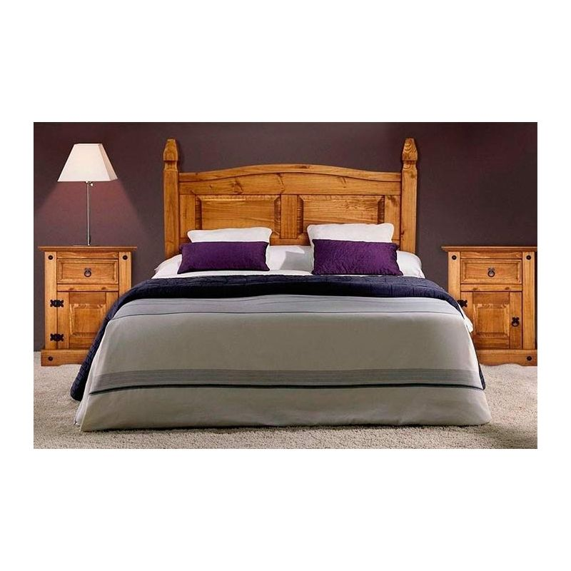 Dormitorio de madera de pino maciza y estilo rústico   Bedrooms ...