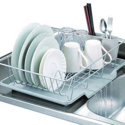 Countertop Dish Rack Organizacao Da Cozinha Utencilios De