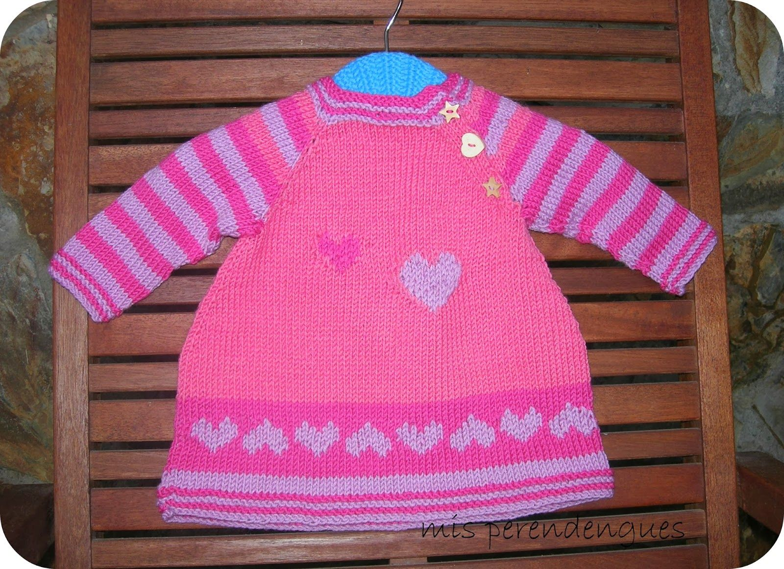 Mis perendengues: A baby dress