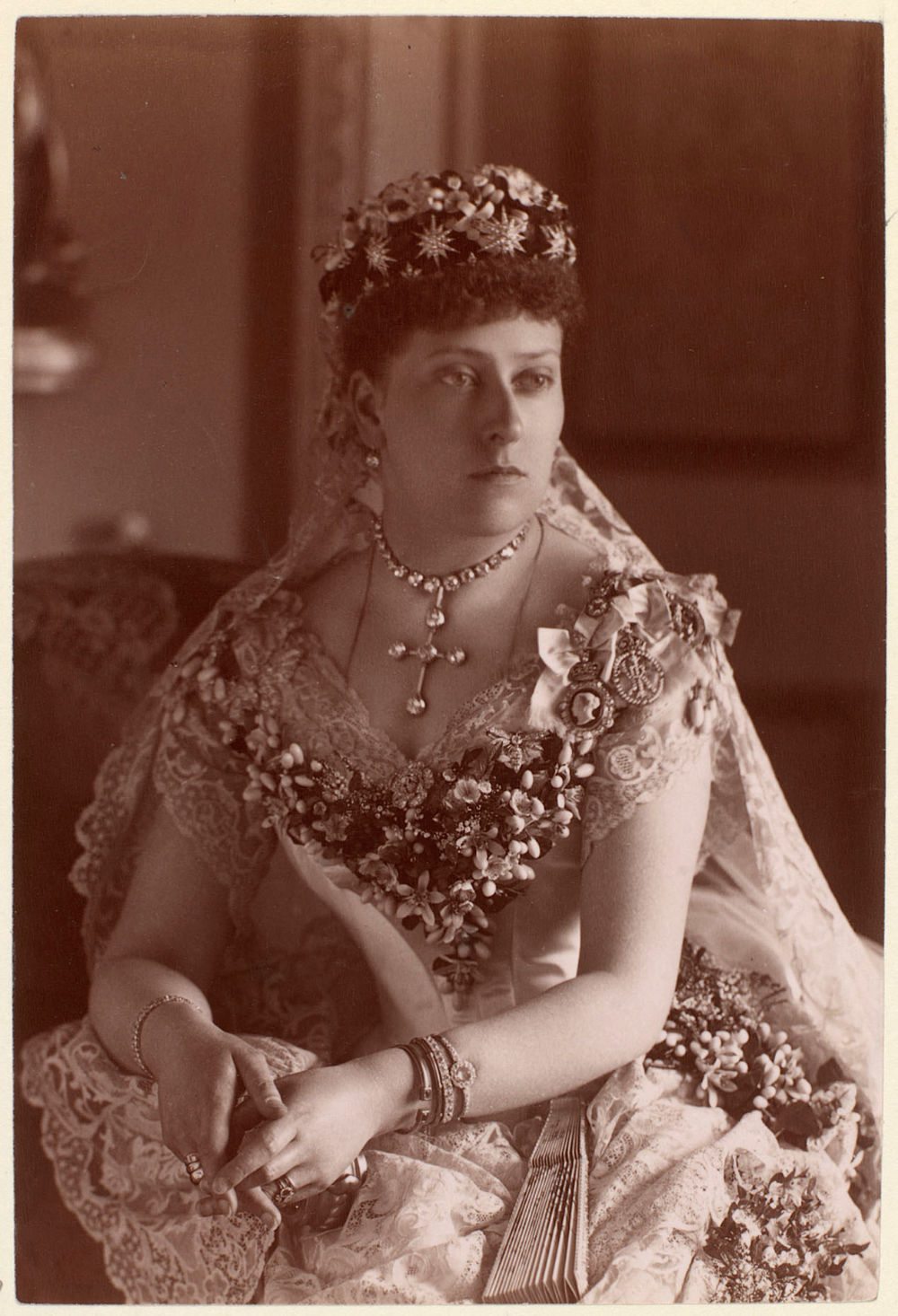 Princess Beatrice of United Kingdom in her wedding day