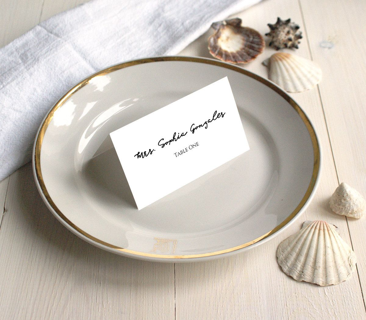 Pdf Template 3 5x2 Tent Style Place Card Escort Card Name Card Table