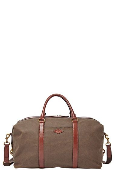 I Love The Mens Duffel Bags From Fossil Might Have To Get Me One Sorry Not