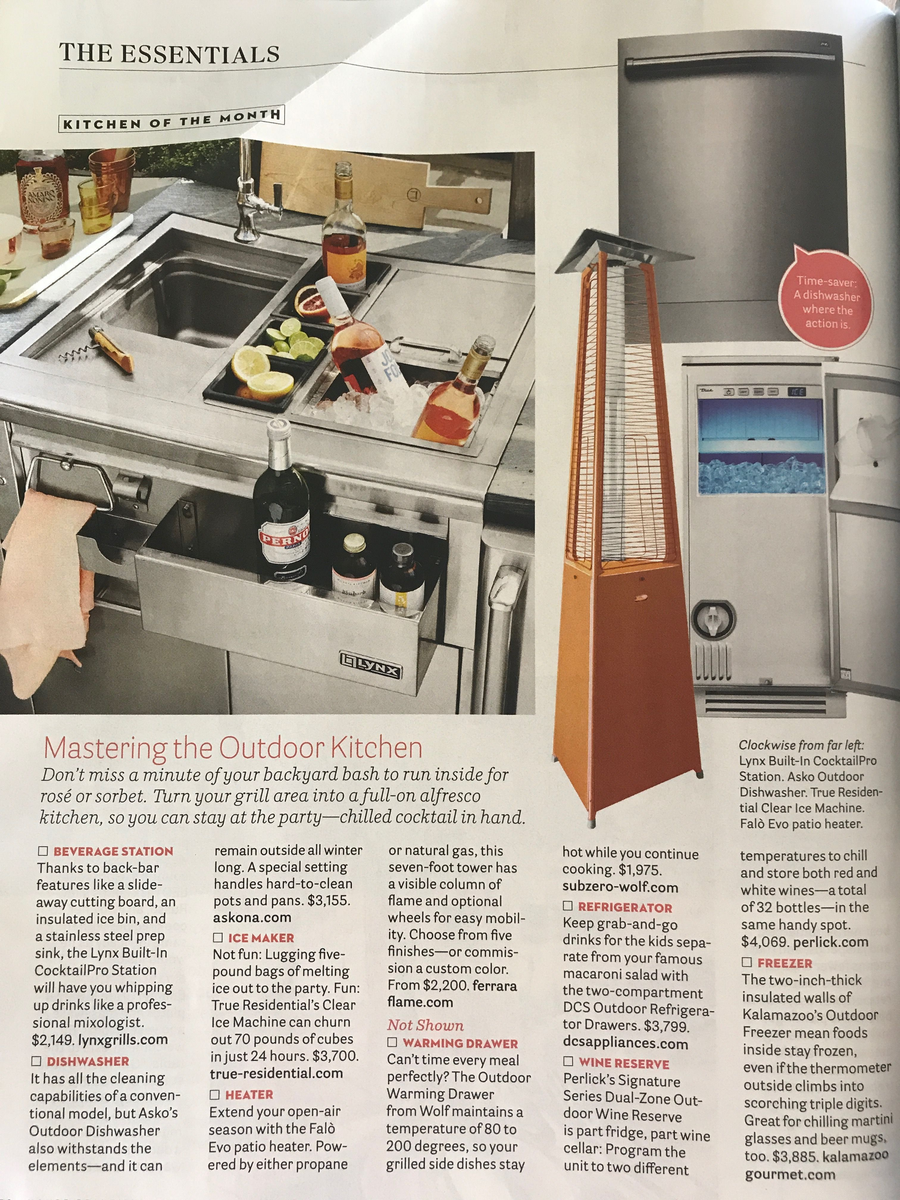 Pin By Lauren Ford On Napa Outdoor Kitchen Outdoor Kitchen Clear Ice Machine Outdoor