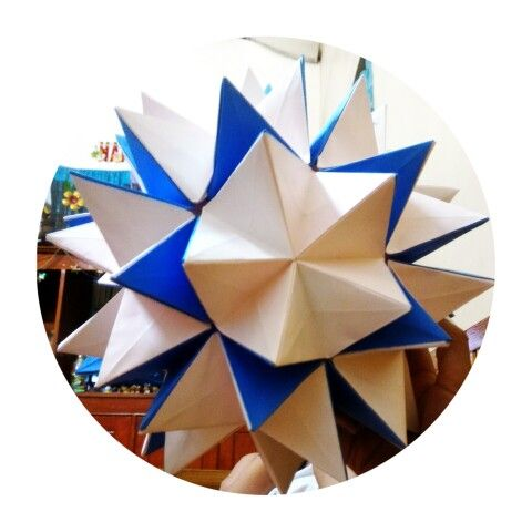 Origami Pop-up Star Folding Instructions - How to fold an Origami ... | 480x480