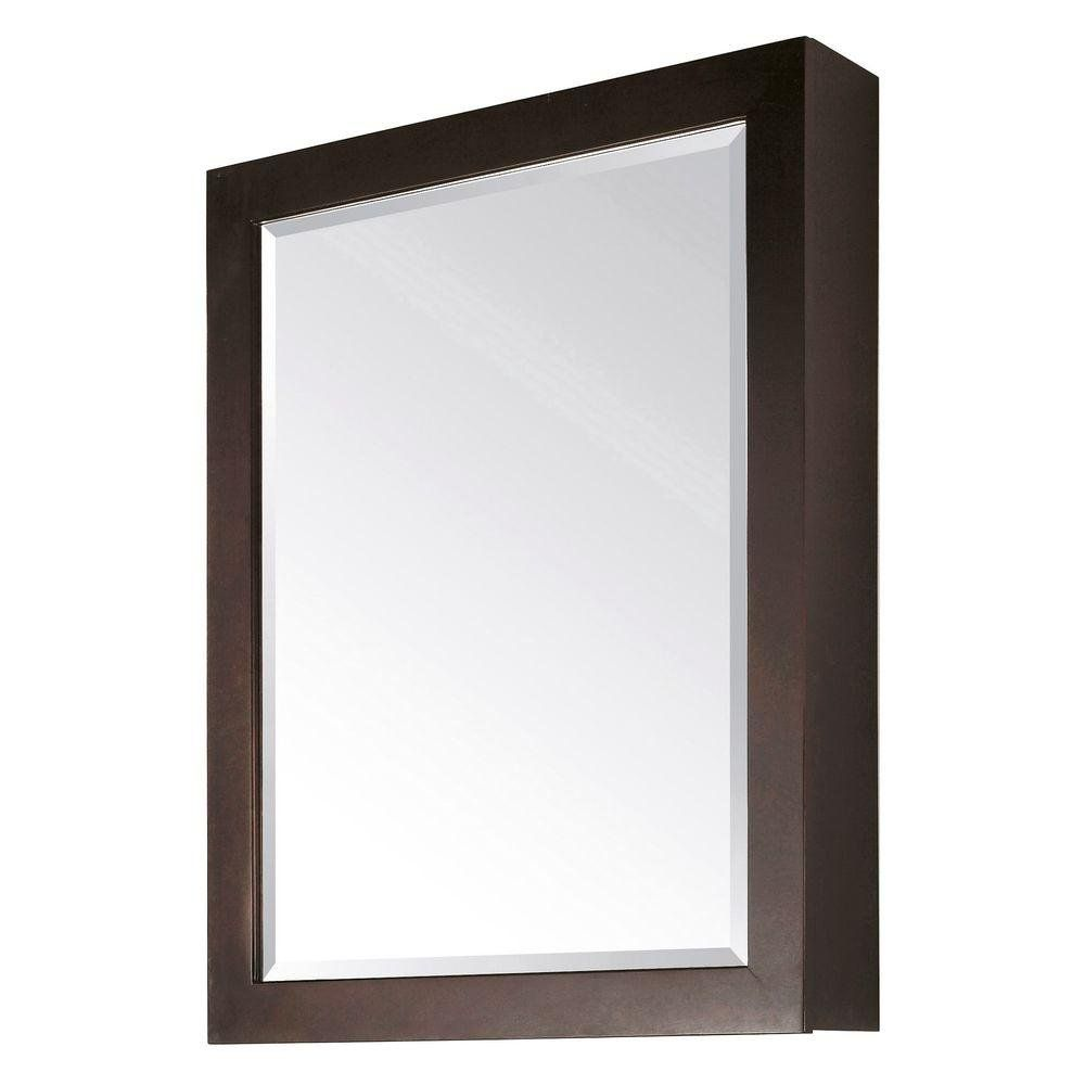 Inspirational Wood Framed Medicine Cabinets with Mirrors