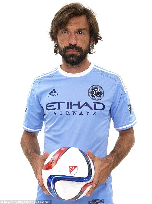 7a44dade6 Andrea Pirlo (ITA) - From Juventus (ITA) to New York City (US) - 2015
