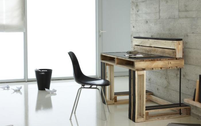 Moderner Schreibtisch Selber Bauen Aus Paletten