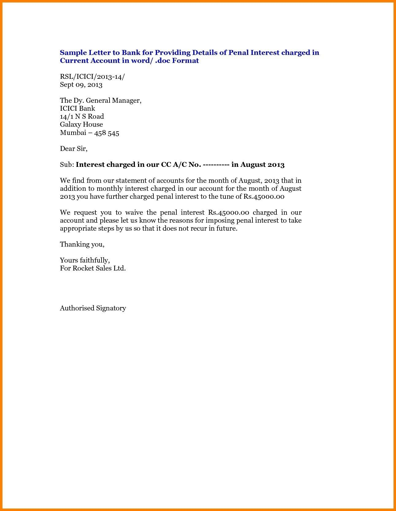 Valid Noc Letter format for Bank Loan Letter template