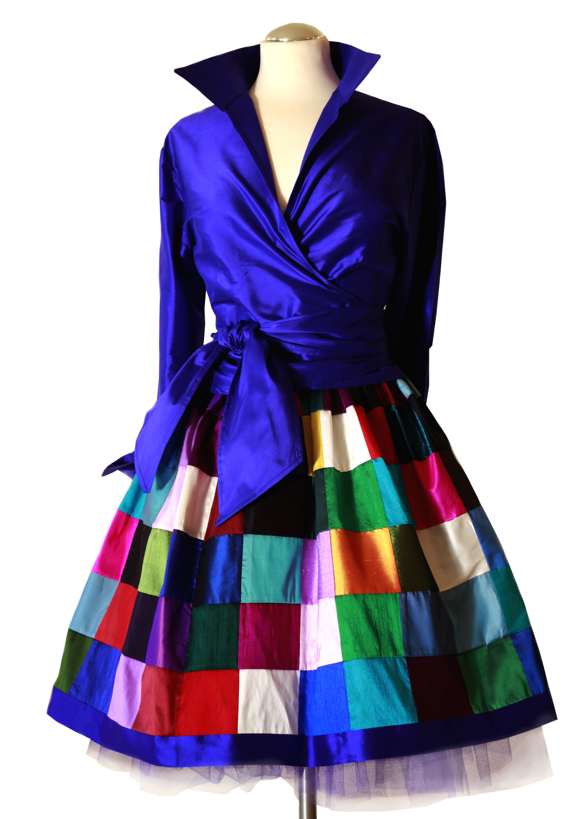 Barby's original silk patchwork skirt!   Quilted skirt ...