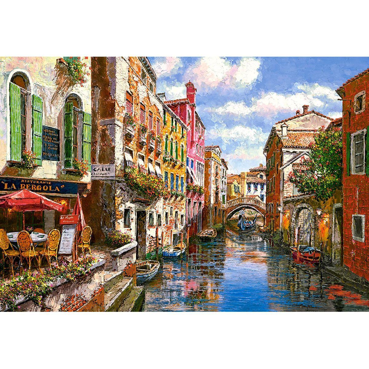 Puzzle 1500 Pieces La Pergola Taille Taille Unique Peinture Paysage Paysages En Peinture A L Huile Pergola