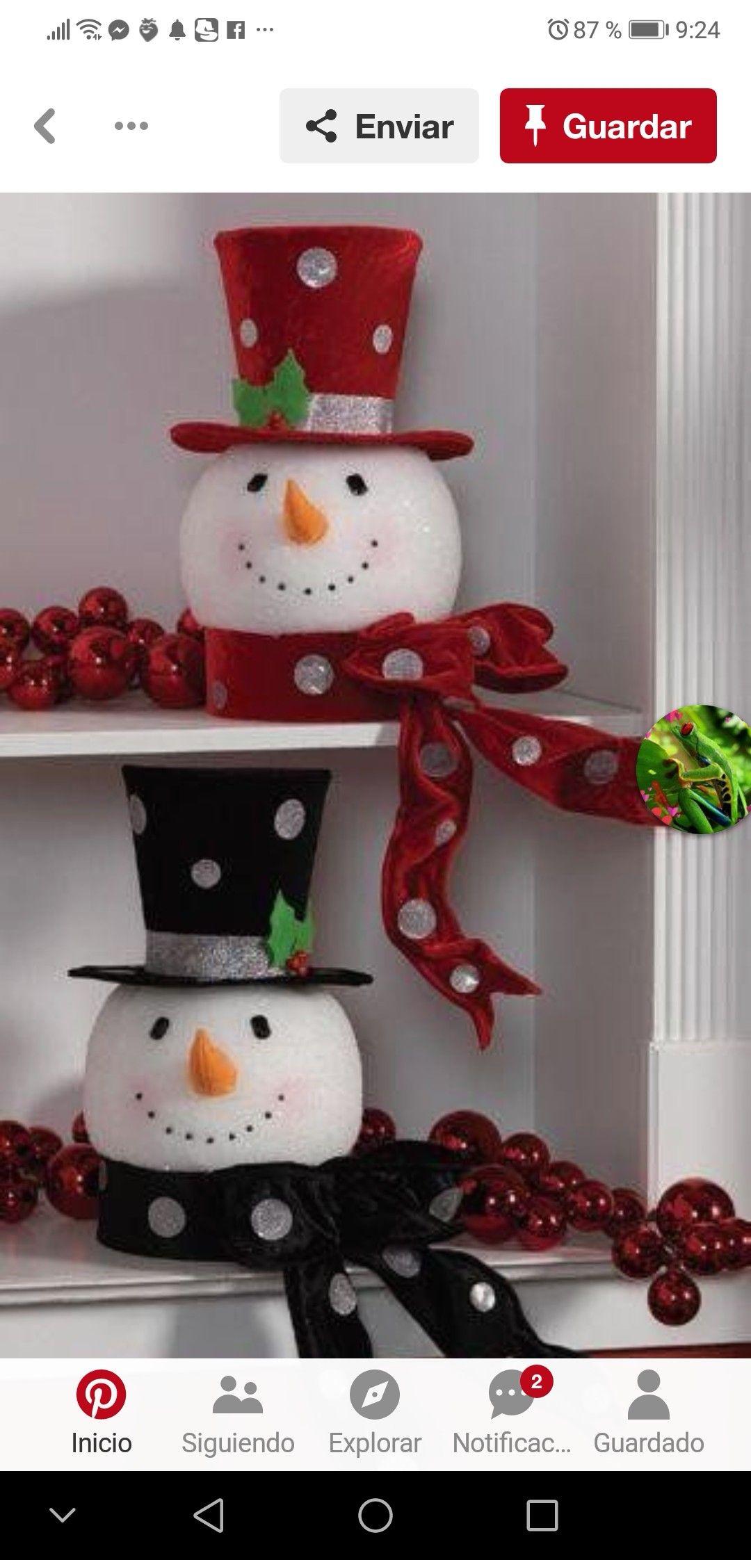 Pin de patricia arias en navidad deco noel noel y for Adornos de navidad para oficina