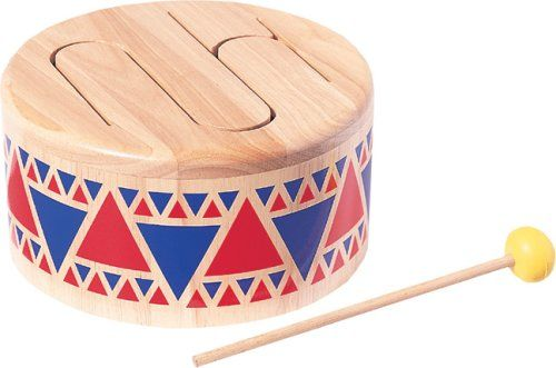 Plan Toys 6404: Solid Drum: Amazon co uk: Toys & Games