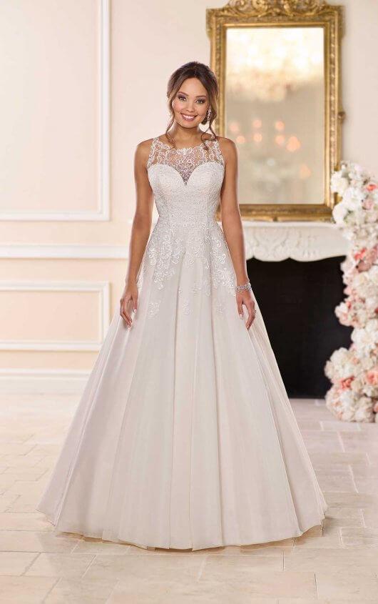 Affordable Classic Wedding Dress Stella York Wedding Gowns In 2020 Classic Wedding Dress Stella York Wedding Dress Stella York Bridal