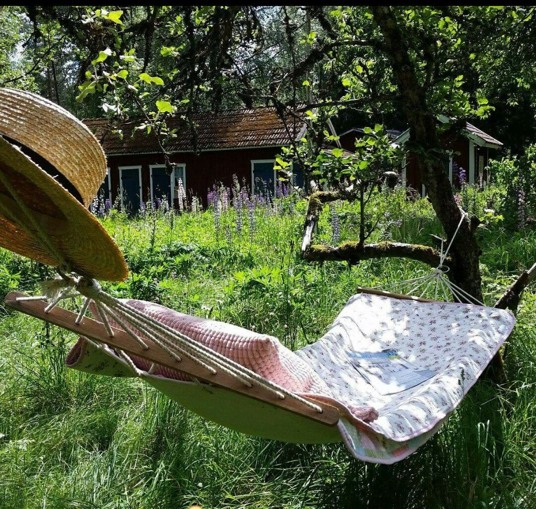 A hammock on the homestead what a perfect summer day this would be