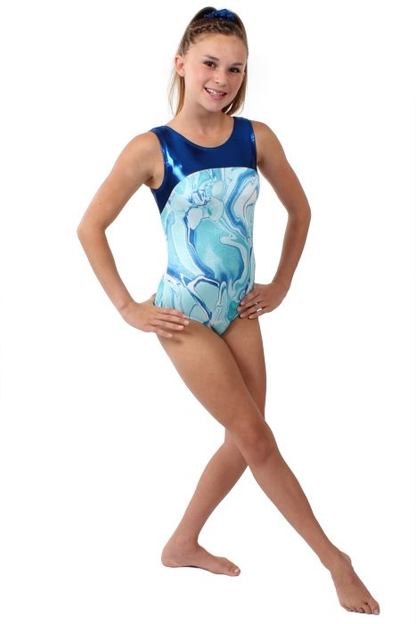 b746ea59c68d Flip N Fit girls tank leotard for gymnastics