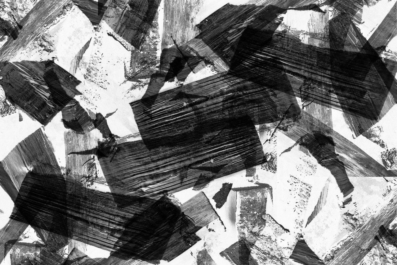abstract painting black and white - Google Search | // DISTURBED ...