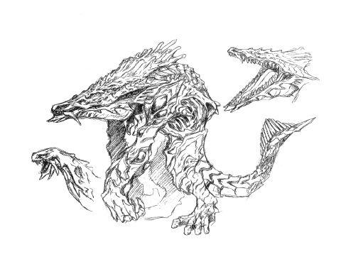Rodan's Roost: Concept Art - Orga/Orga 026