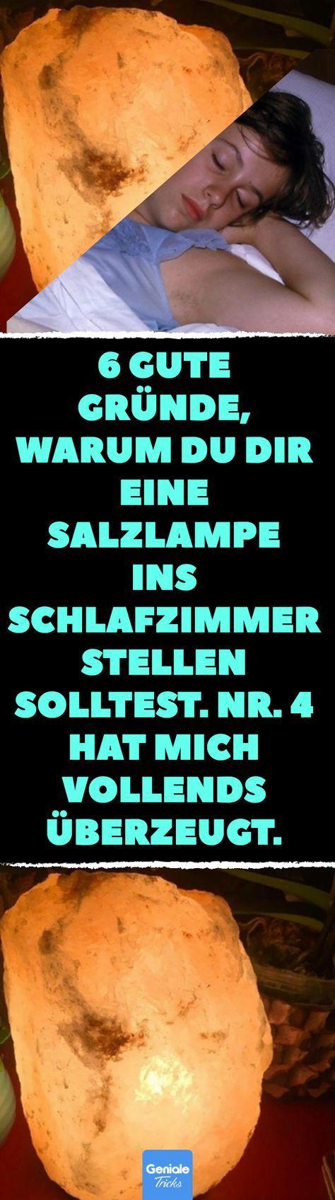 Photo of 6 Gründe für Salzlampen im Schlafzimmer.