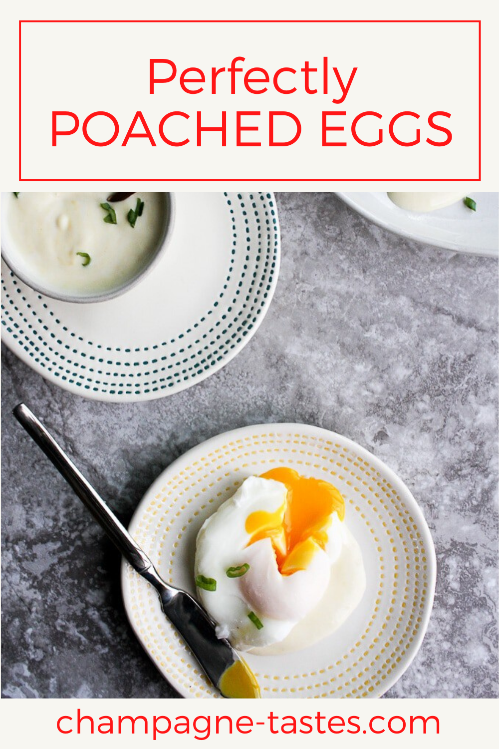 Perfectly Poached Eggs With Dijon Sauce Recipe Poached Eggs