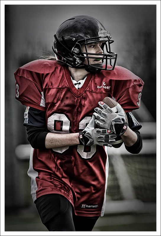 Female American football player from the Solent Iceni