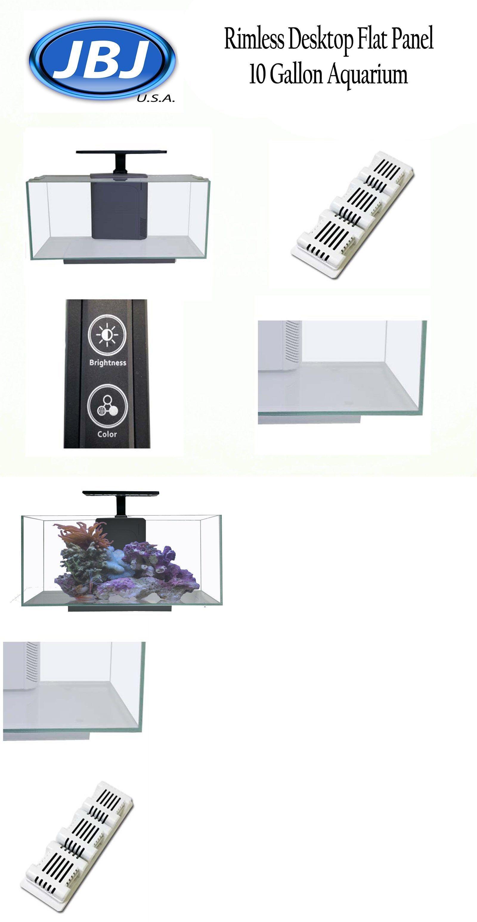Aquariums and Tanks Jbj Rimless Desktop Flat Panel 10