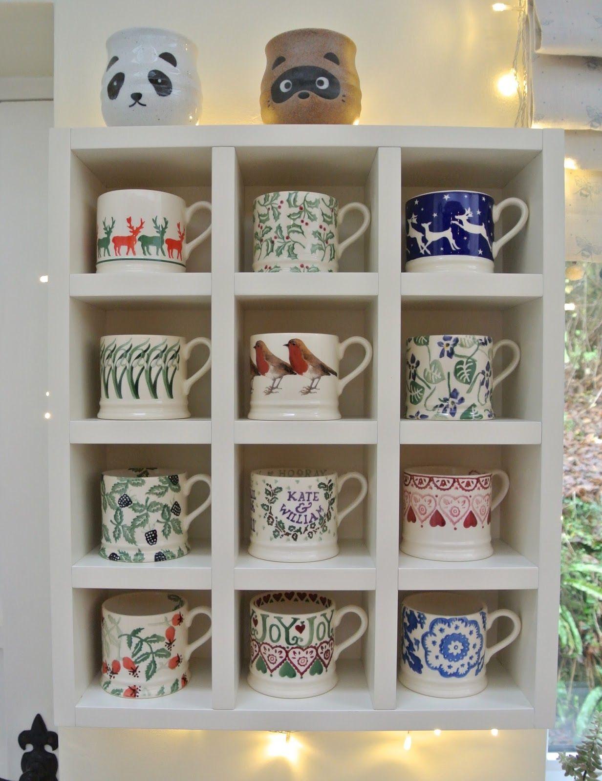 Christmas Makings And Doings With Images Emma Bridgewater Pottery Mug Display Coffee Mug Display