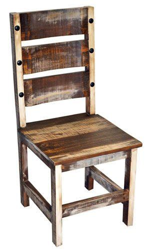 Million Dollar Rustic Barrel Dinette Chair Check out the