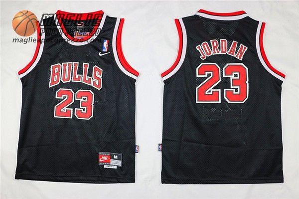 fc85803ef3cca Canotte nba Bambino Chicago Bulls Michael Jordan  23 nero