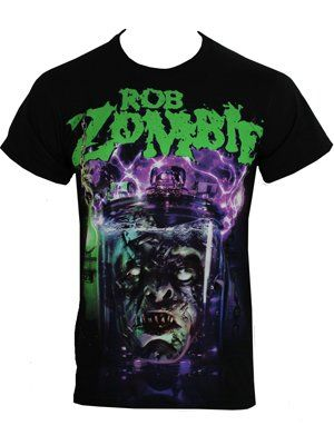 Rob Zombie Head Until I'm Dead Men's Black T-Shirt £12.95