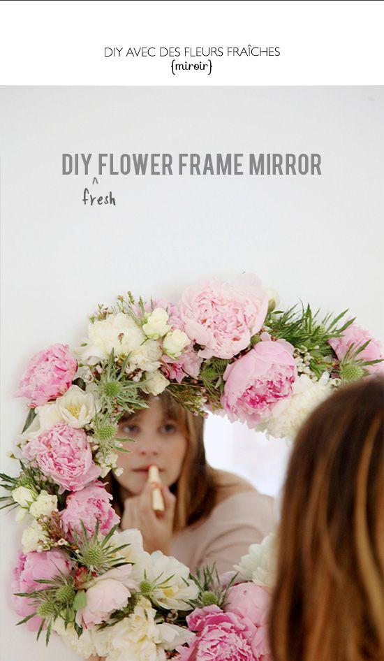 DIY avec des fleurs fraîches - with fresh flowers | vip fashion ...