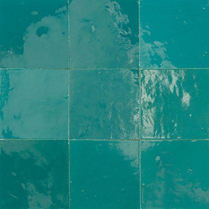 Zellige Dark Blue Green http://www.zellige-tiles.com ...