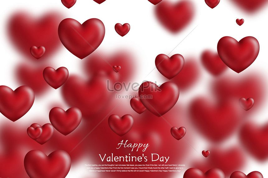 Valentine S Day Love Background Love Romance Love Heart Type