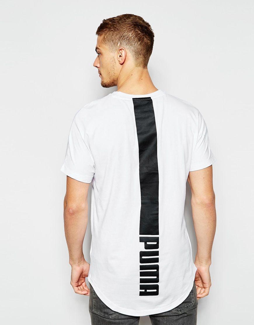 908bd80e Puma+Evolution+Longline+T-Shirt | pur(chase) these | T shirt, Shirt ...